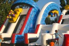 campeggio con parco acquatico per famiglie