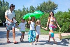 villaggio con attività per bambini a chioggia