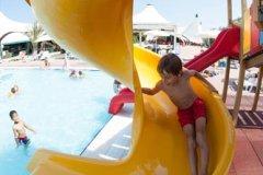 camping con parco acquatico per bambini