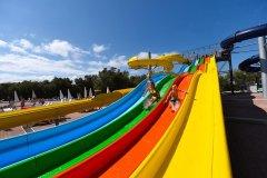campeggio con parco acquatico per bambini