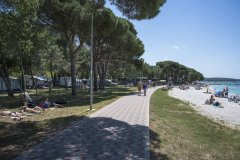campeggi con parco acquatico per bambini in croazia