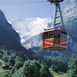cabinovie della regione dello jungfrau