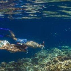 fare snorkeling con i bambini alle maldive