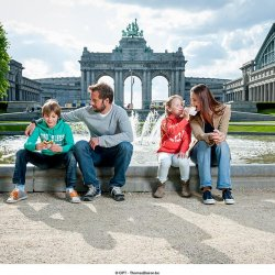 Arcades du Cinquantenaire - Triomfboog van het Jubelpark - Gaufres