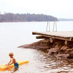 regione dei laghi finlandesi per bambini