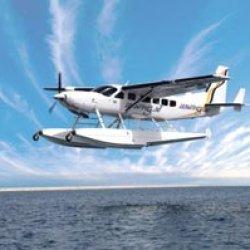 the burj experience seaplane