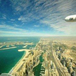 volare con idrovolante sugli emirati