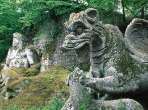 Il parco dei mostri di Bomarzo Lazio