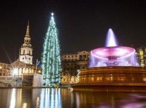 Gran-Bretagna---Londra,-Trafalgar-Square