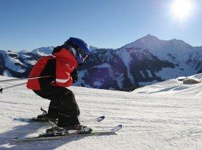 sciare con i bambini ad alpbachtal