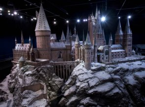 Warner Bros. Studio Tour London Ð The Making of Harry Potter today reveals the stunning Hogwarts castle model covered in snow, ready for visitors to admire this festive season.        14.11.13 Pix.Tim Anderson    FREE PHOTO USAGE