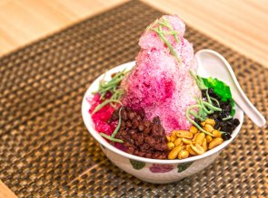 AIS KACANG (SHAVED ICE)