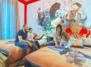 Gardaland Hotel Kung Fu Panda