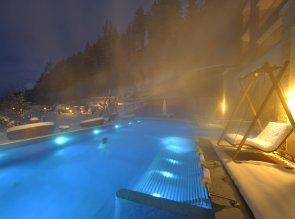 Quellenhof Resort - Inverno, piscina, particolare