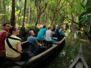 In vacanza in Kerala con la famiglia