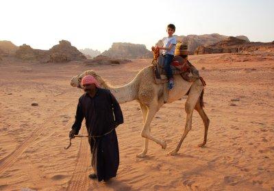 vacanza con i bambini in Giordania