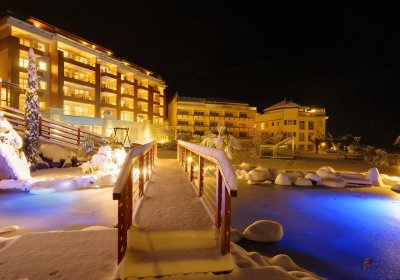 Hotel Quellenhof Luxury Resort inverno