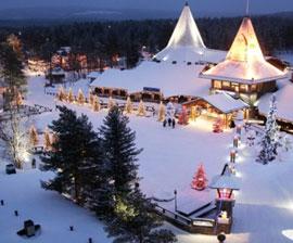 Rovaniemi Lapponia Babbo Natale.Pacchetto Rovaniemi Il Circolo Polare Artico E Santa Claus