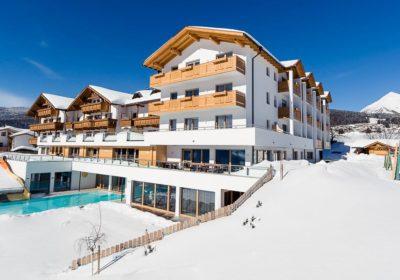 hotel residente alpenhof inverno