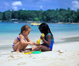 natale ai tropici con i bambini