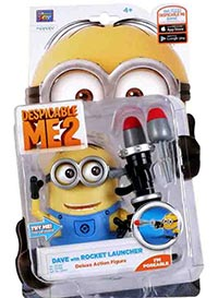 Minions Dave with Rocket Launcher