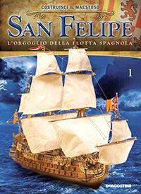 veliero SanFelipe deagostini