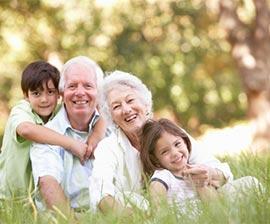 bambini in vacanza con i nonni