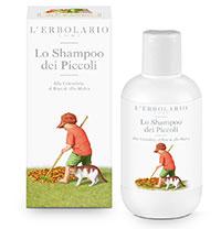 erbolario lo shampoo per i bambini piccoli