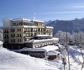 sulla neve con i bambini in svizzera