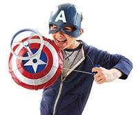 marvel Scudo e Maschera di Capitan America