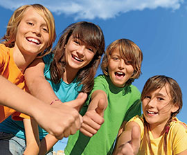 summer camp per bambini
