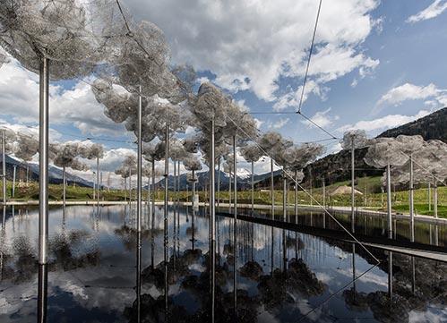 Crystal Cloud Swarovski Kristallwelten