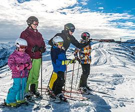 natale sugli sci con i bambini in austria