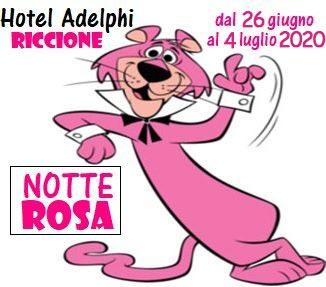 offerta notte rosa hotel Riccione