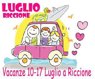 Vacanze luglio a Riccione