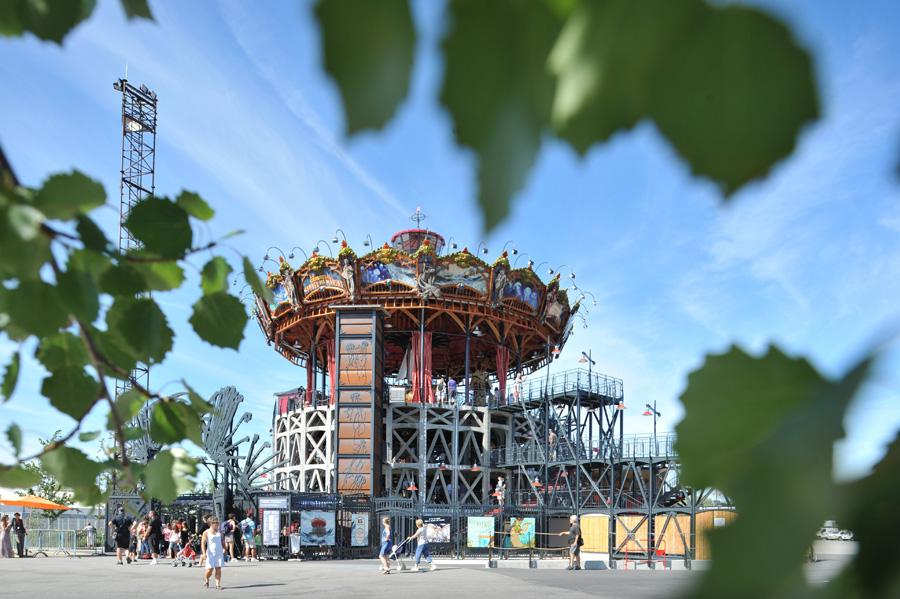 Le Carrousel des Mondes Marins. Nantes