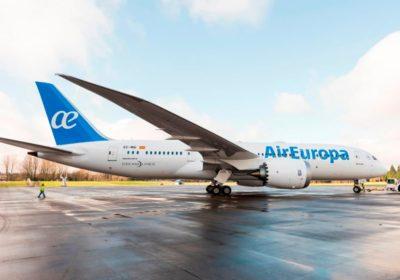 volare con i bambini air europa