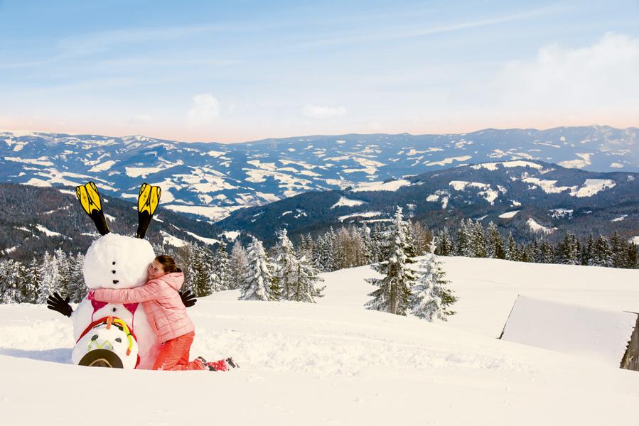 Carinzia sulla neve con i bambini