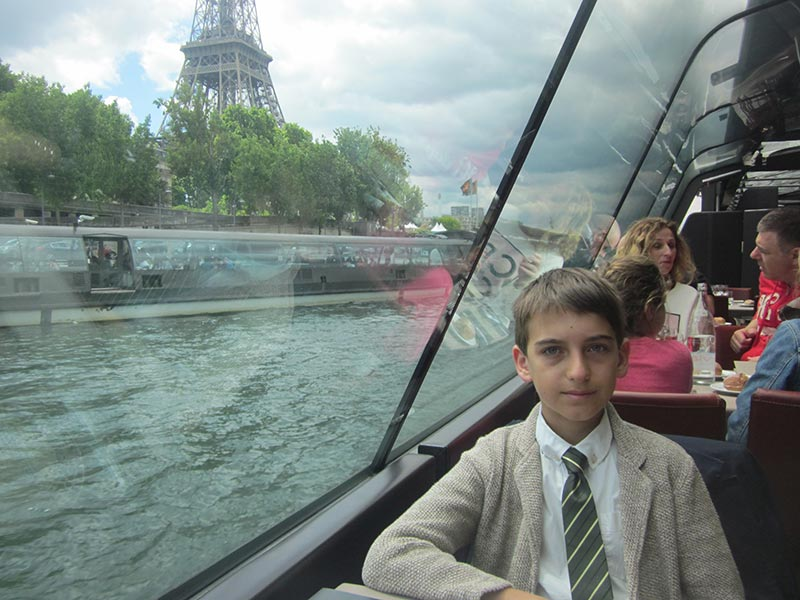 weekend con i bambini a parigi