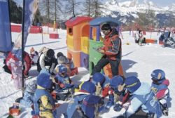 Ski area Moena Alpe Lusia