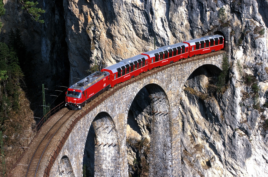 Trenino rosso Bernina Express - Albula