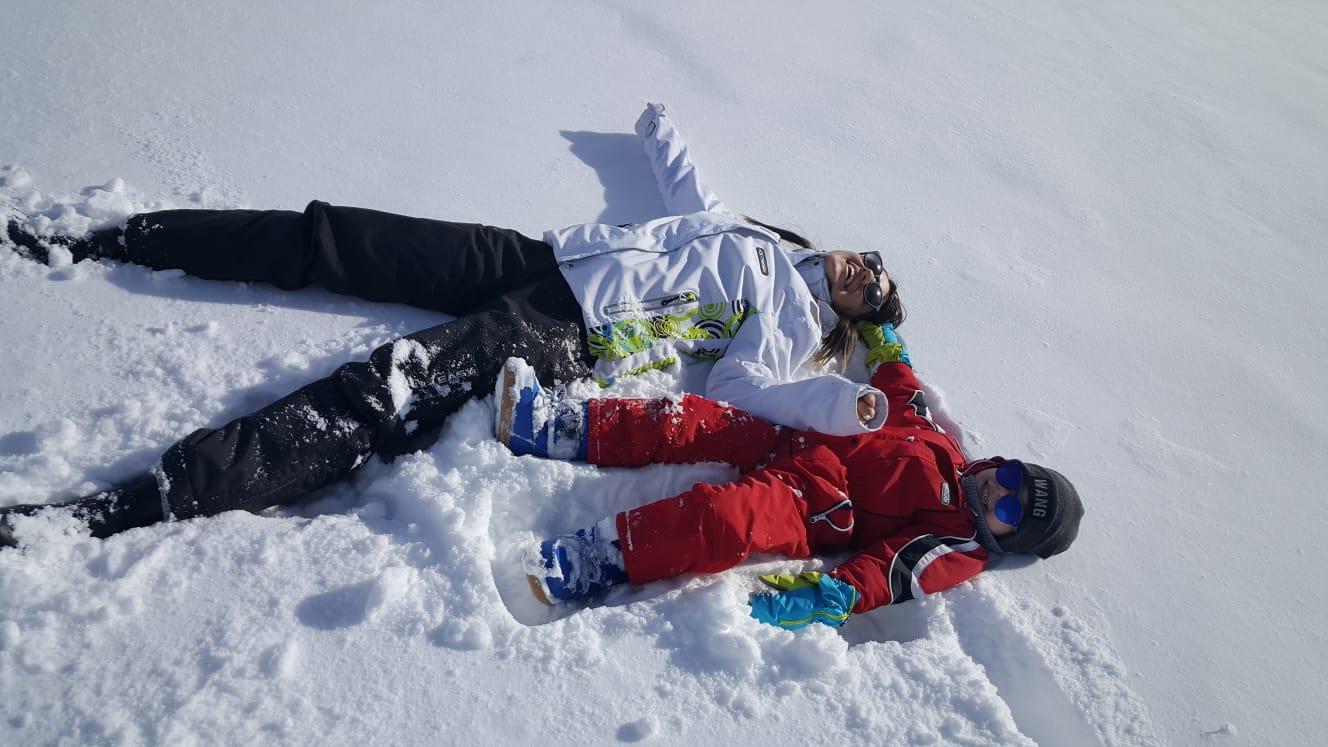 Prima neve in Trentino, Sulle Dolomit