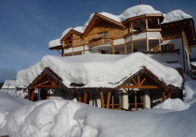 ambiez suitel hotel trentino inverno