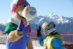 sciare con i bambini a san martino di castrozza