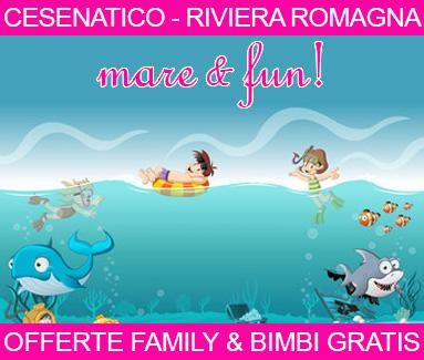 BiondiHotels Cesenatico Adriatica - Offerte Family bimbi gratis