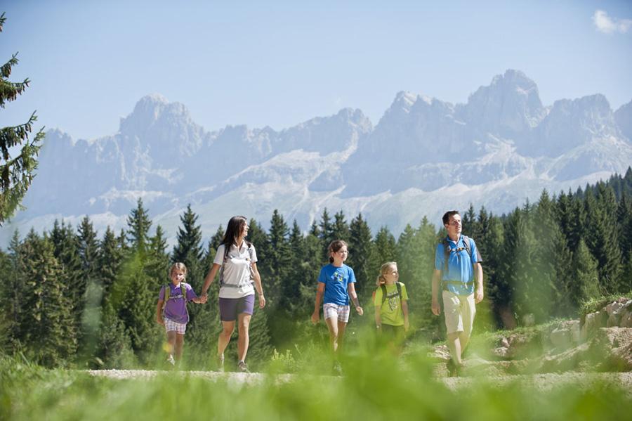 vacanze con i bambini in val d'ega in estate