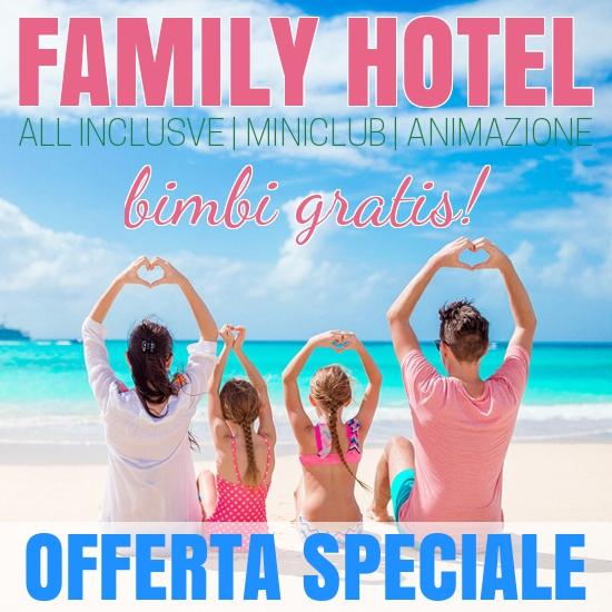 ALL INCLUSIVE PER FAMIGLIE - HOTEL MIRAMARE DI MAROTTA