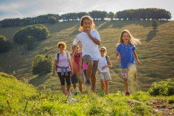 con i bambini sull'altopiano di brentonico e sul monte baldo trentino