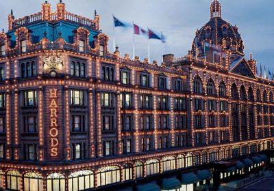 Londra grandi magazzini Harrods