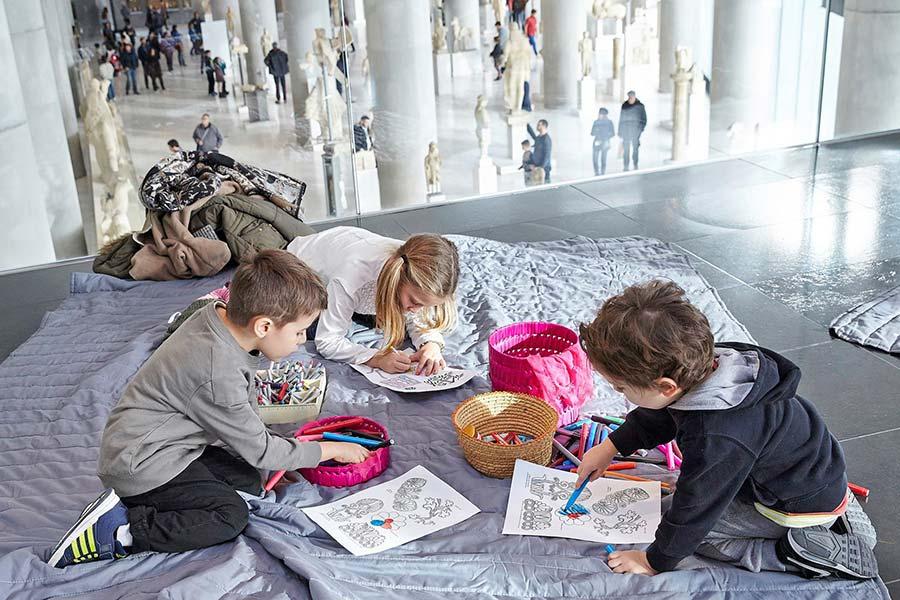 Atene con i bambini